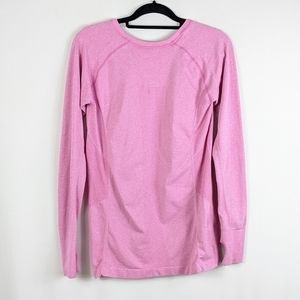 Zella Pink Active Workout Pullover Long Sleeve